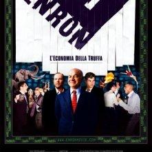 La locandina di Enron - L'economia della truffa