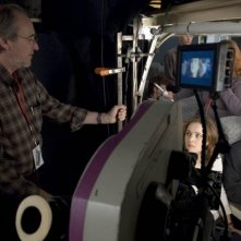 Sul set di Red Eye: Cillian Murphy Rachel McAdams e Wes Craven