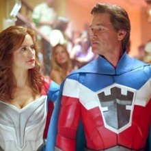 Kelly Preston e Kurt Russell in Sky High