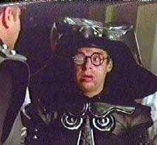 L'attore Rick Moranis in una scena di BALLE SPAZIALI