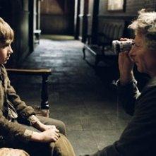 Roman Polanski ed il piccolo Barney Clark sul set di Oliver Twist