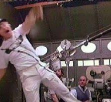 Una immagine tratta dal film Balle Spaziali