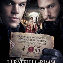La locandina italiana di I fratelli Grimm e l'incantevole strega