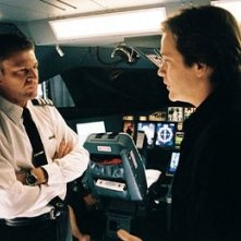 Sean Bean e Peter Sarsgaard in Flightplan