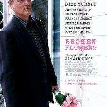 La locandina italiana di Broken Flowers