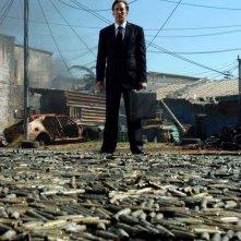 Nicolas Cage in una sequenza del film Lord of War