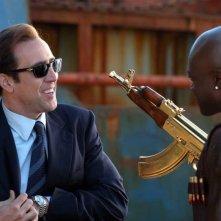 Nicolas Cage in una immagine del film Lord of War