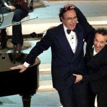 Sanremo 2002 - Roberto Benigni 'aggredisce' il povero Pippo Baudo