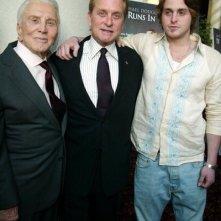 Tre generazioni di Douglas: Kirk, Michael e Cameron