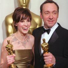 Hilary Swank e Kevin Spacey