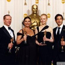 I quattro vincitori degli Oscar attoriali per il 2003