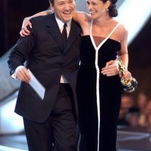 Julia Roberts con Kevin Spacey