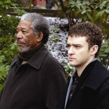 Morgan Freeman e Justin Timberlake in Edison City