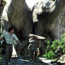 Adrien Brody e Jack Black in una scena di King Kong