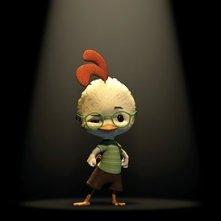 Il simpatico protagonista di Chicken Little - Amici per le penne