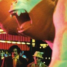 Johnny Depp in una sequenza di Paura e delirio a Las Vegas