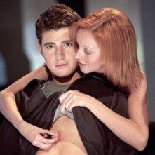 Julian Morris e Lindy Booth in una scena di Nickname: L'enigmista