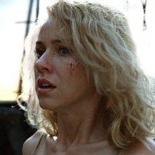 L'attrice australiana Naomi Watts in una scena di King Kong