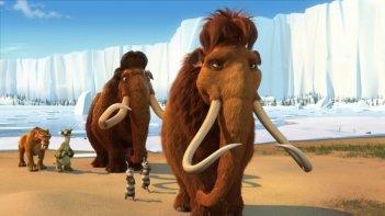 Una scena del film L'era glaciale 2
