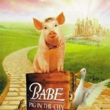La locandina di Babe va in città