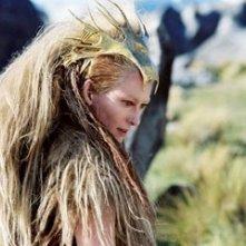 Tilda Swinton in una scena di Le cronache di Narnia: il Leone, la Strega e l'Armadio