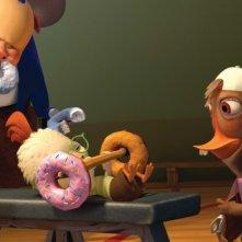 Ciambelle per i protagonisti di Chicken Little - Amici per le penne