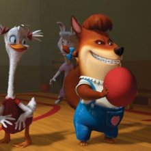 Immagine dal film d'animazione Chicken Little - Amici per le penne
