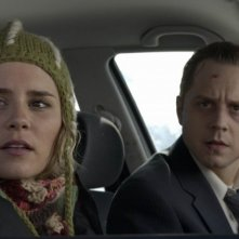 Giovanni Ribisi e Alison Lohman in The Big White