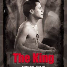 La locandina italiana di The King