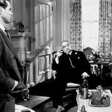 Sidney Greenstreet e Humphrey Bogart ne Il mistero del falco