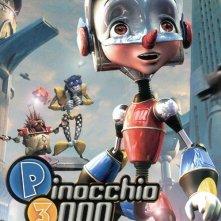 La locandina di PK3 - Pinocchio 3000