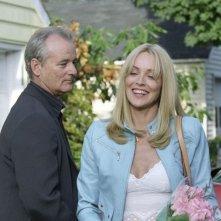 Bill Murray e Sharon Stone in Broken Flower