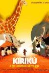La locandina italiana di Kirikù e gli animali selvaggi