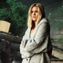 Maggie Grace in una sequenza di The Fog