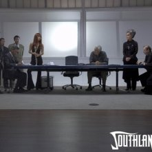 Una scena del film Southland Tales