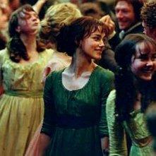 Carey Mulligan, Keira Knightley and Jena Malone in Orgoglio e Pregiudizio