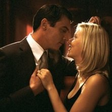 Jonathan Rhys-Meyers e Scarlett Johansson in Match Point di Woody Allen
