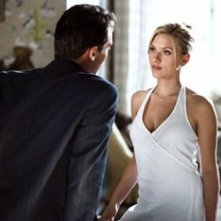 Jonathan Rhys-Meyers e Scarlett Johansson in Match Point