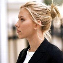 Una splendida Scarlett Johansson in Match Point
