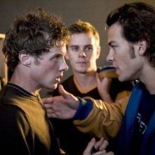 Ashton Holmes e Kyle Schmid in A History of Violence