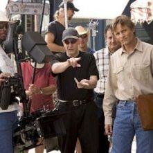 David Cronenberg e Viggo Mortensen sul set di A History of Violence