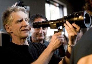 David Cronenberg sul set di A History of Violence