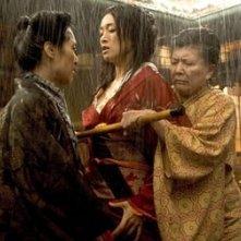 Kaori Momoi, Gong Li e Tsai Chin in Memorie di una Geisha
