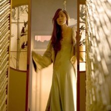 Michelle Yeoh in una sequenza di Memorie di una Geisha