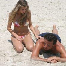 Vanessa Hessler e Christian De Sica in Natale a Miami