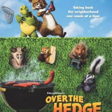 La locandina di Over the Hedge