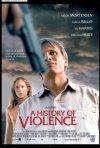 La locandina italiana di A History of Violence