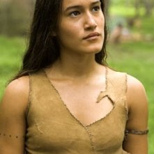 Q'Orianka Kilcher in The New World