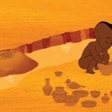 il piccolo protagonista di Kirikù e gli animali selvaggi