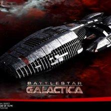 La locandina di Battlestar Galactica (2003)
